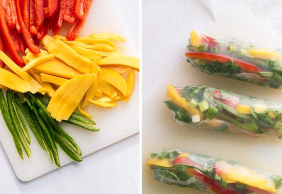prepared-mango-spring-rolls