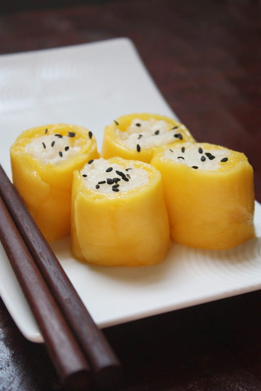 mango sushi cover