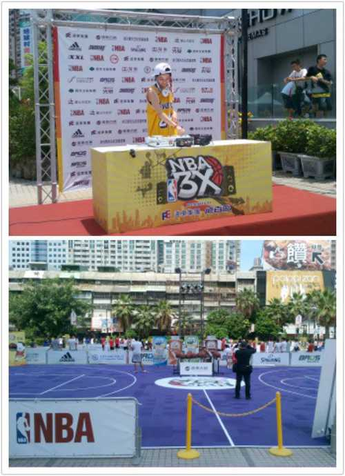 大遠百NBA 3X球賽活動DJ